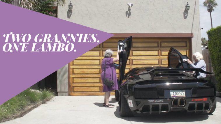 Watch what Happens When 2 Senior Citizens get their hands on a Lamborghini