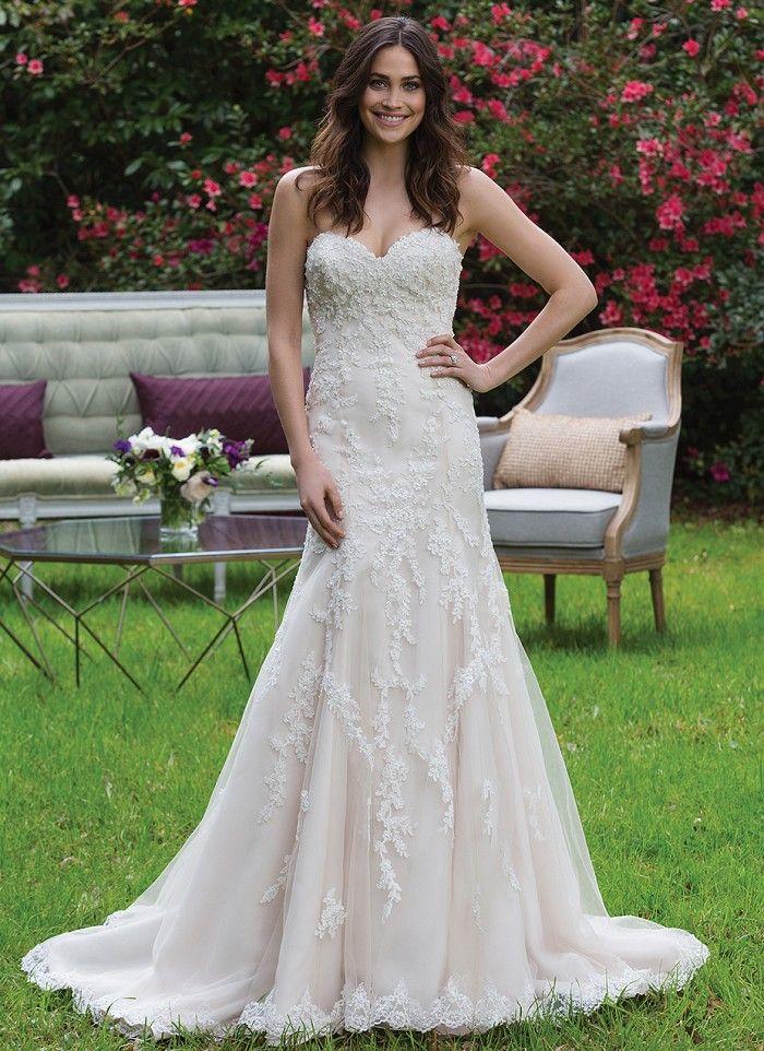 Sincerity 3967   Wedding   Pinterest   Beaded lace, Wedding dress ...