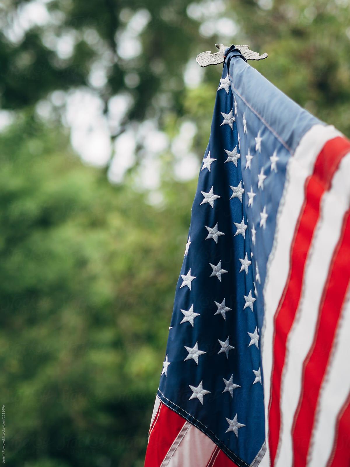 American Flag Stock Photo American Flag Flag Hanging