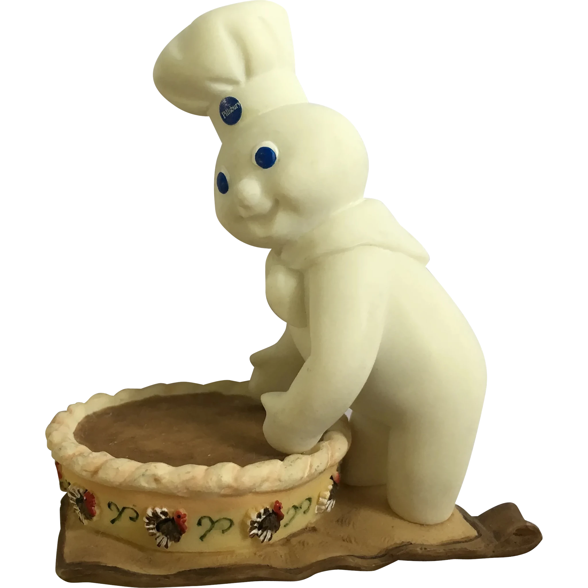 I Love The Adorable Pillsbury Doughboy He Is So Precious And Literally Sweet This Wonderful Figurine Is In Great Condition With No Damages He Is Grabbing For