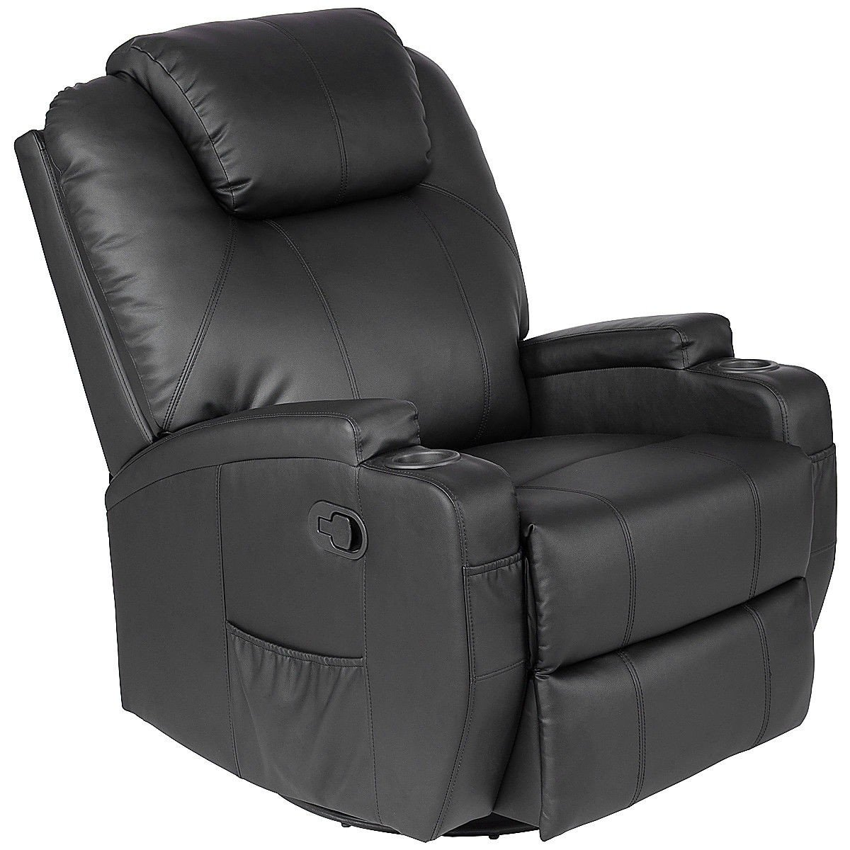 Manumotive Massage Recliner Sofa Chair With Cup Holder Ships Free Reclining Sofa