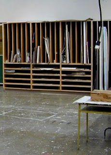 Dasken Designs Painting Storage Solutions Art Studio Storage
