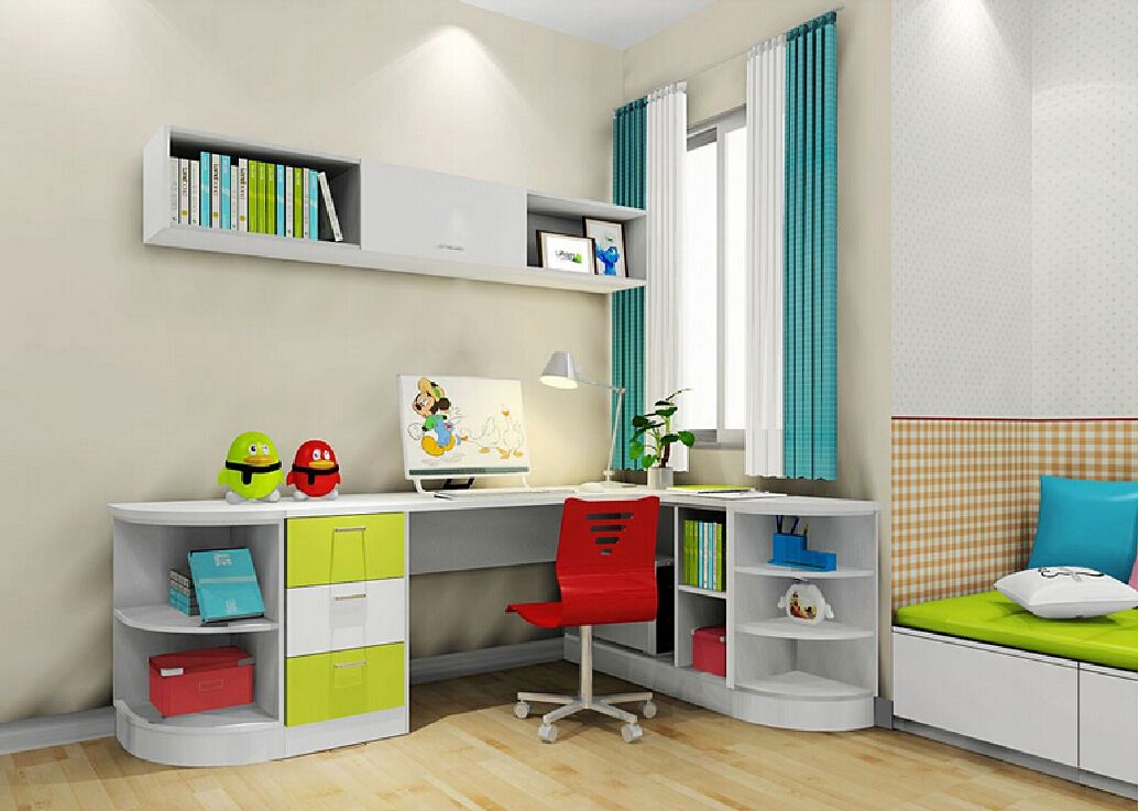 Corner Desk For Kids 3d Interior Design Kids Kids Corner Desk Kids Room Desk Kids Room Interior Design
