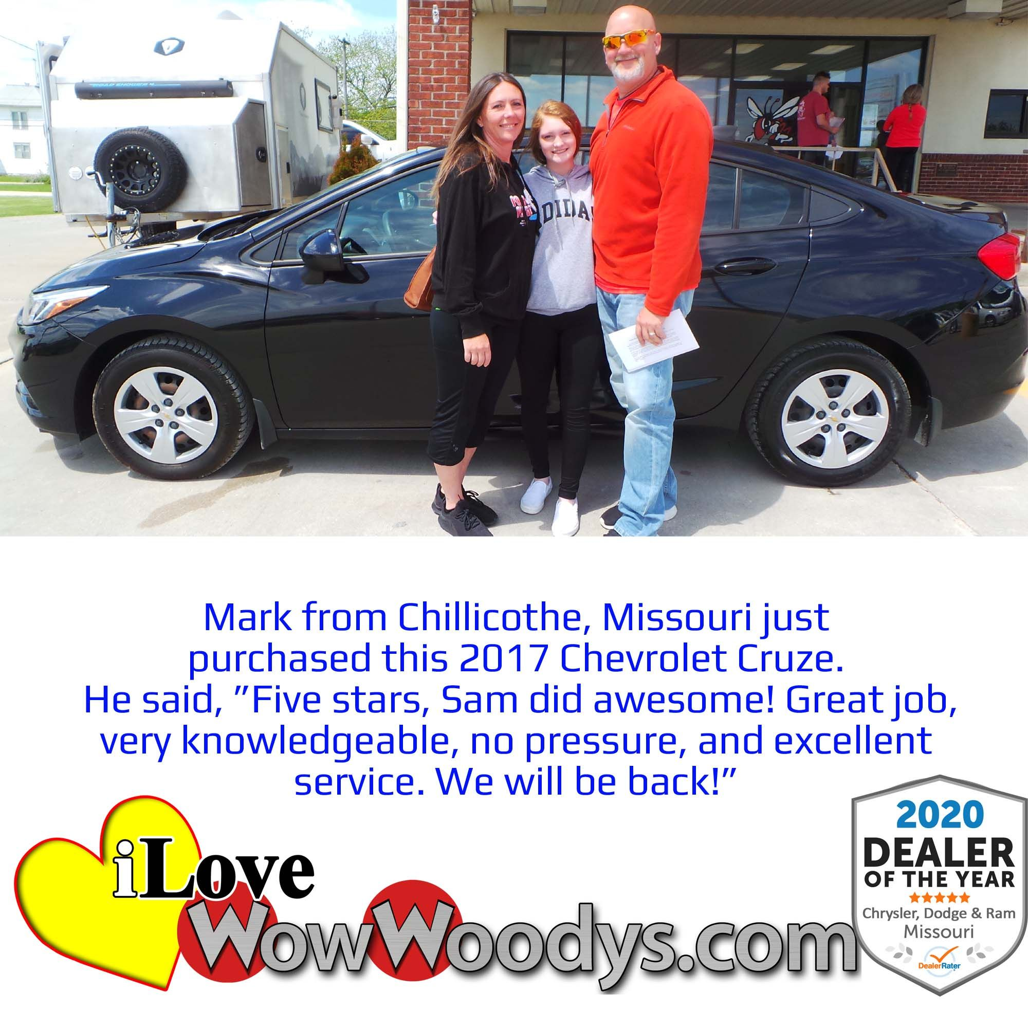 New Used Cars For Sale In Chillicothe Near Kansas City Mo Woody S Automotive Group In 2020 Chevrolet Cruze Automotive Group Cars For Sale Used