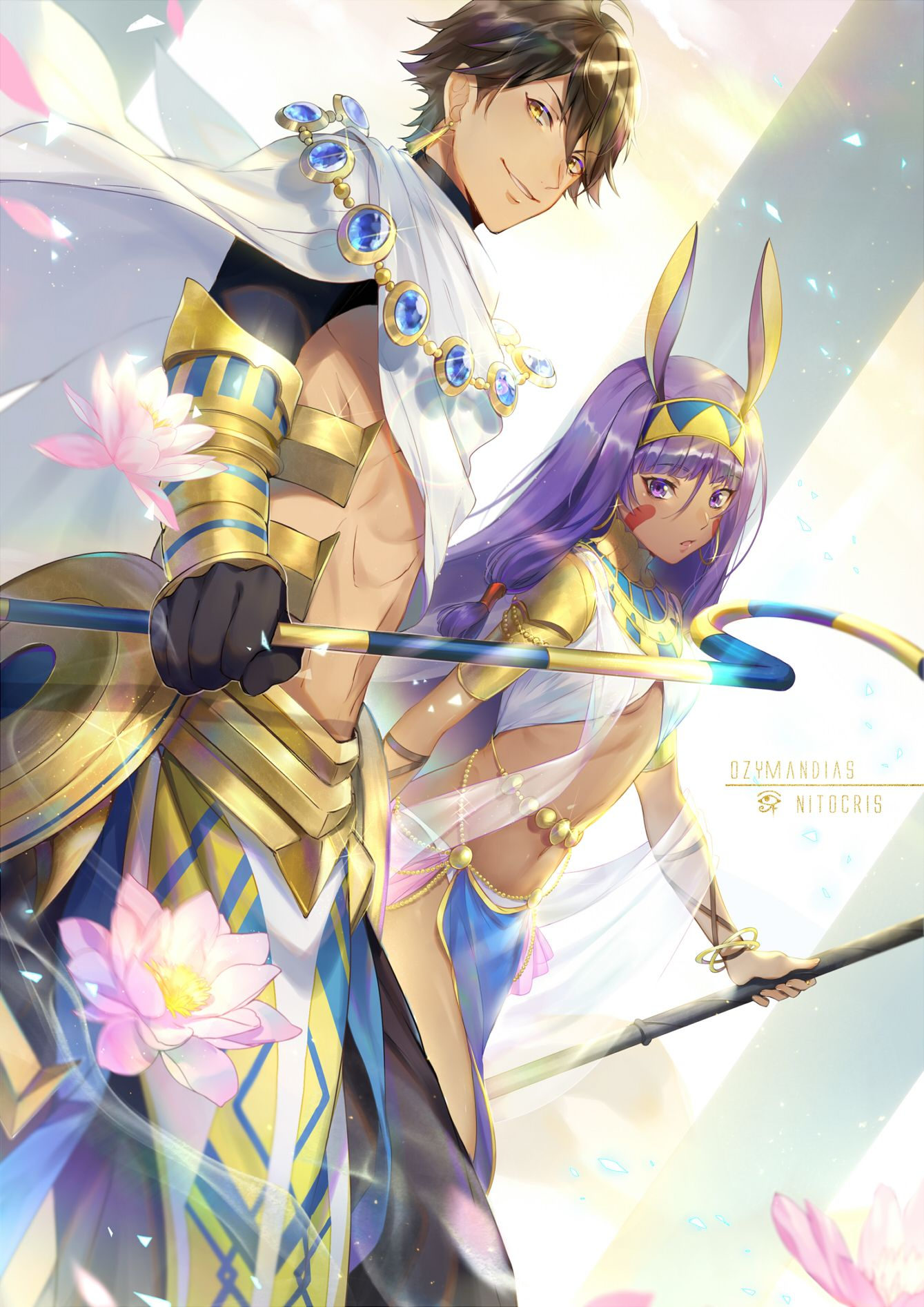 Caster Nitocris Ozymandias Rider Fgo Pinterest Fate