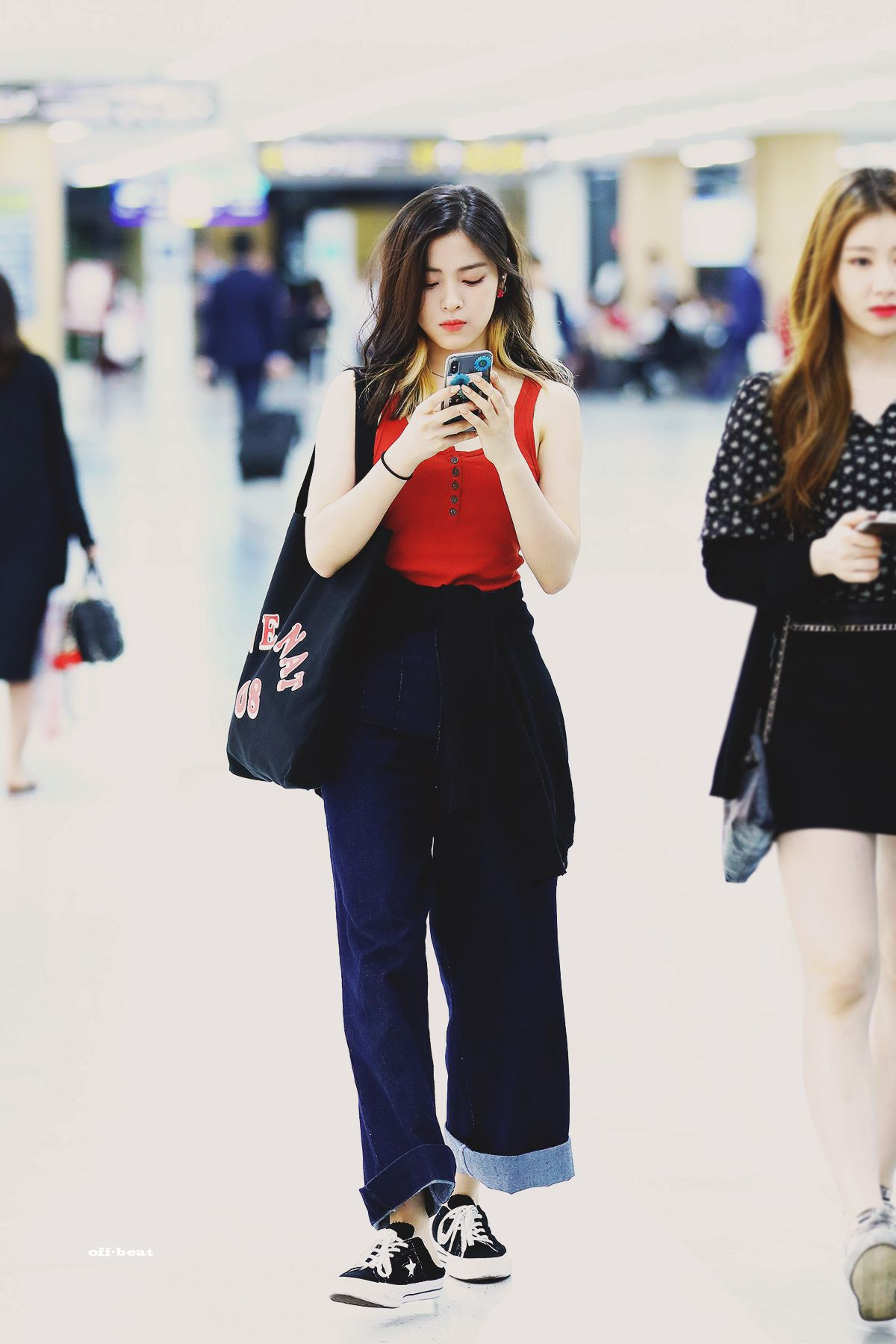 Off Beat On Twitter Korean Casual Outfits Kpop Fashion Korean Airport Fashion