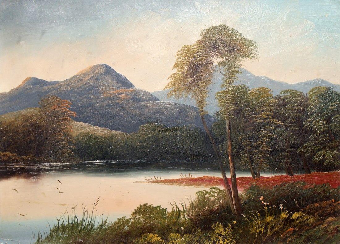 19th Century Famous Landscape Oil Painting | Landscape ...