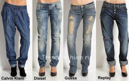Модные джинсы с картинками