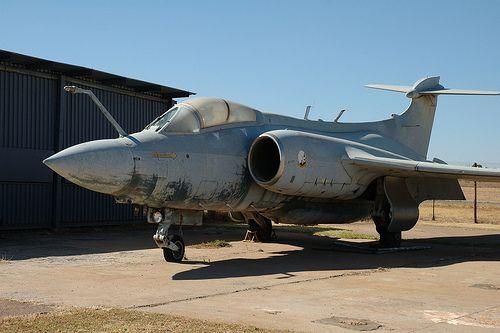 SAAF Buccanneer 421