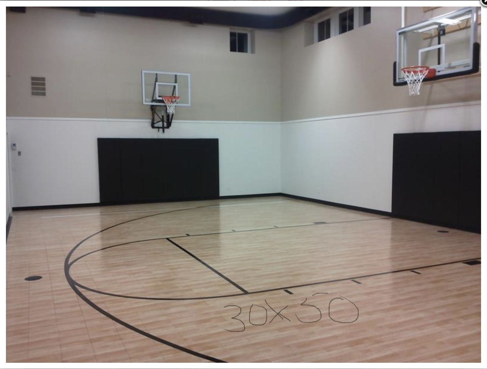 Pin By Tom Benassi On Party Barn Ideas Sport Court Home Basketball Court Indoor Sports Court