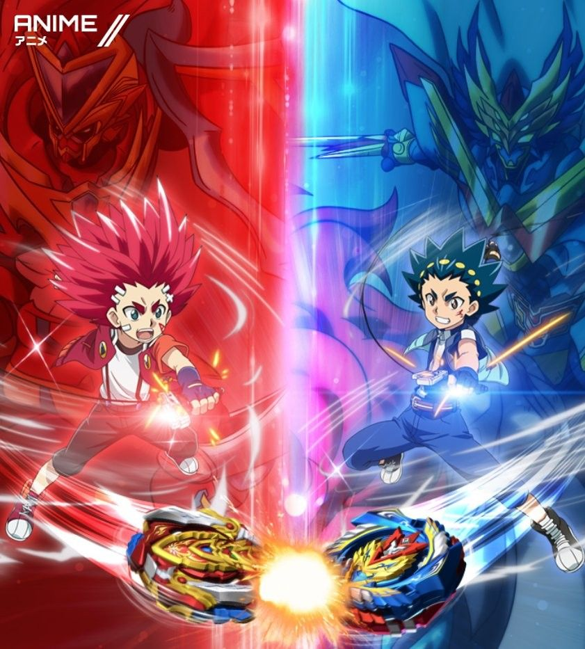 Beyblade Burst Chouzetsu wallpaper with Akaba Aiga/ChoZ
