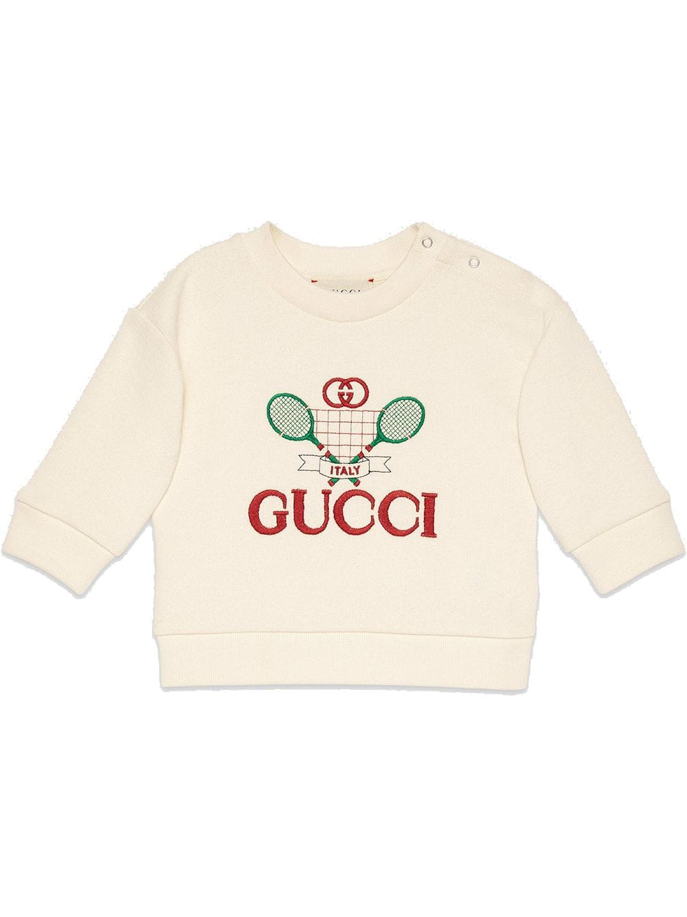 Gucci Kids Gucci Tennis Jumper Farfetch Sweatshirts Baby Sweatshirt Gucci Kids [ 1334 x 1000 Pixel ]