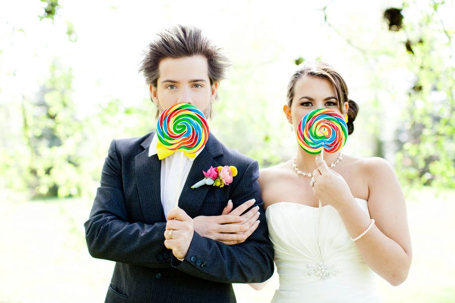 How Sweet It Is Indeed A Styled Candy Themed Wedding Gives Wonka A