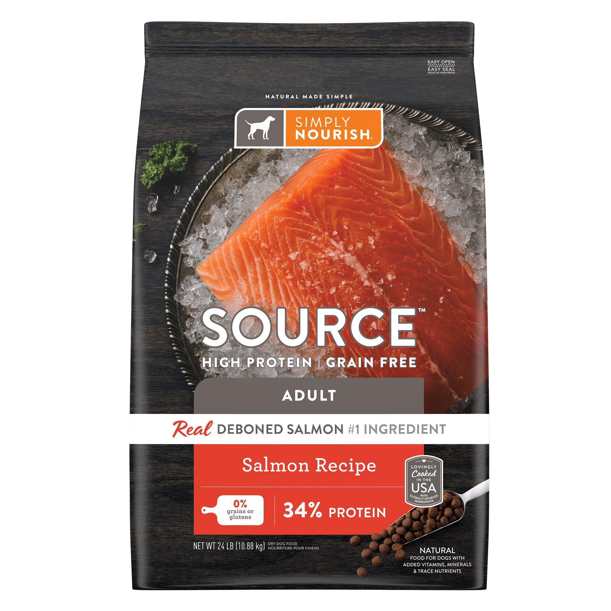 Simply Nourish Source Adult Dog Food Natural High Protein