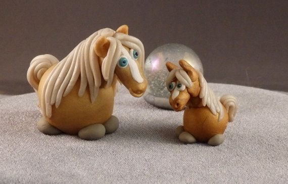Hey, I found this really awesome Etsy listing at https://www.etsy.com/listing/229216164/marblemini-mothers-day-palomino-horse