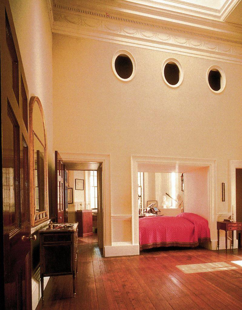 Thomas Jefferson's Bedroom (postcard