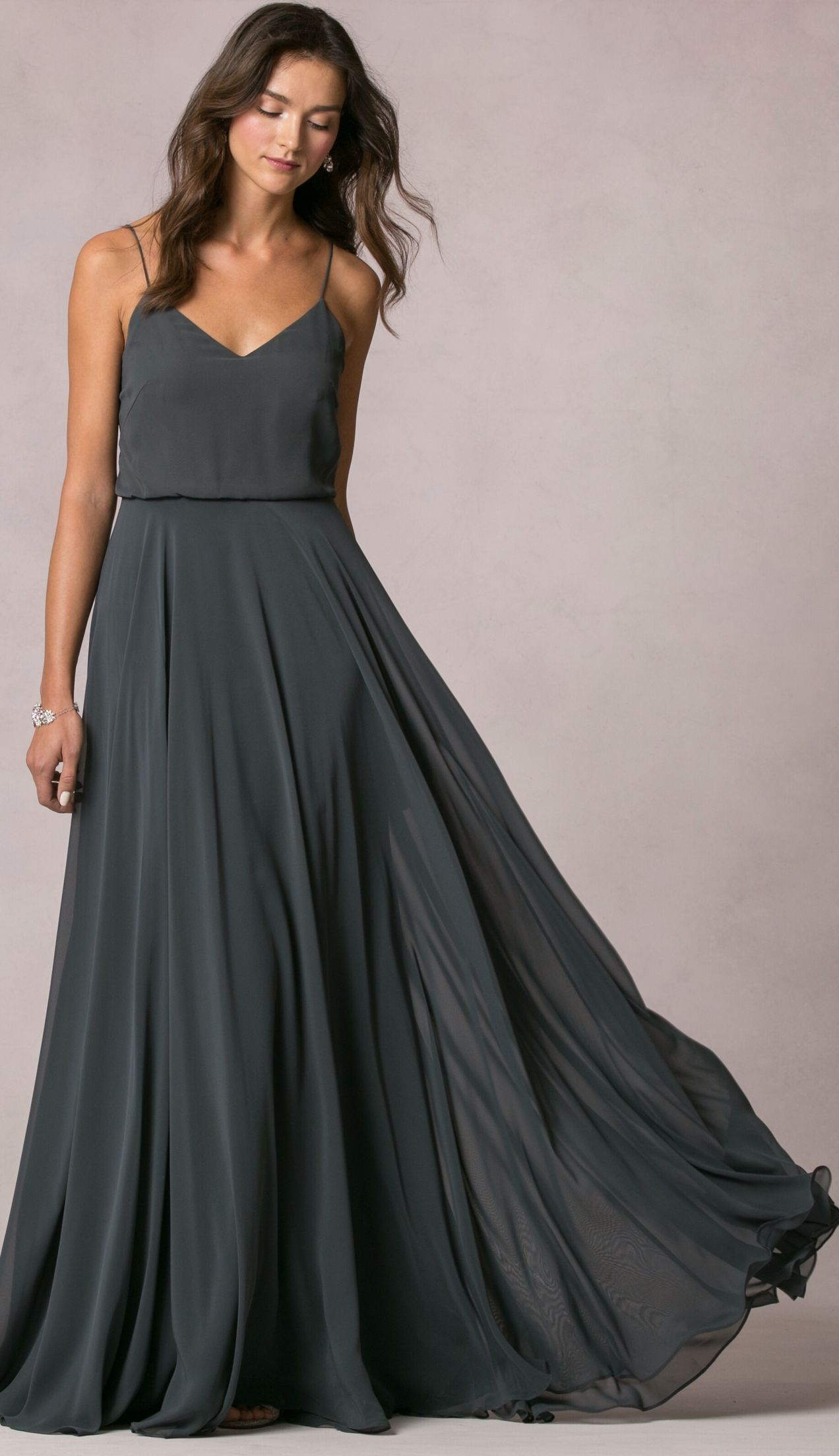 Inesse dress by jenny yoo available in 27 chiffon colors wedding inesse dress by jenny yoo available in 27 chiffon colors long black bridesmaid dressesgrey ombrellifo Images