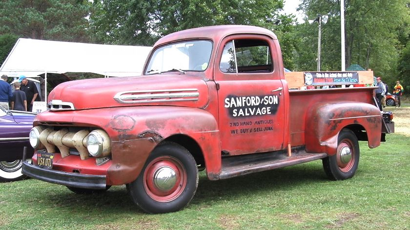 Here Are A Couple More Images The Real Sanford Son Truck Was