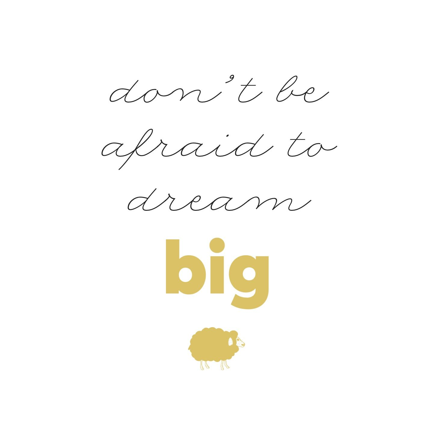 Don't be afraid to dream big #babyquotes #mymamaproject #gianlisa #mymamabag http://gianlisa.com/mymama-shop/