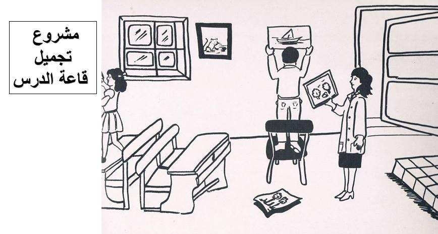مشاهد تواصل شفوي او انتاج كتابي عن تنظيف و تجميل المدرسة Home Decor Decals Blog Diagram