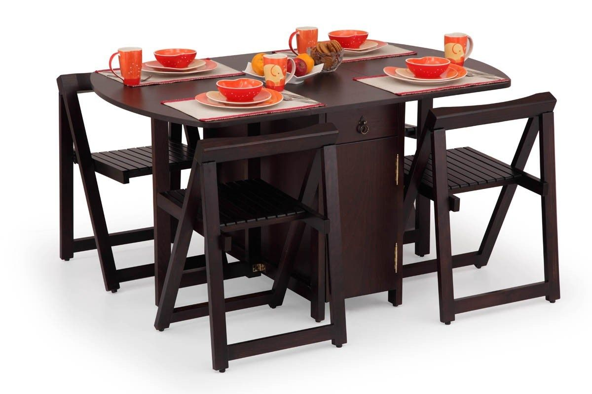 More Click Portable Dining Tables Wood Folding Dining Table