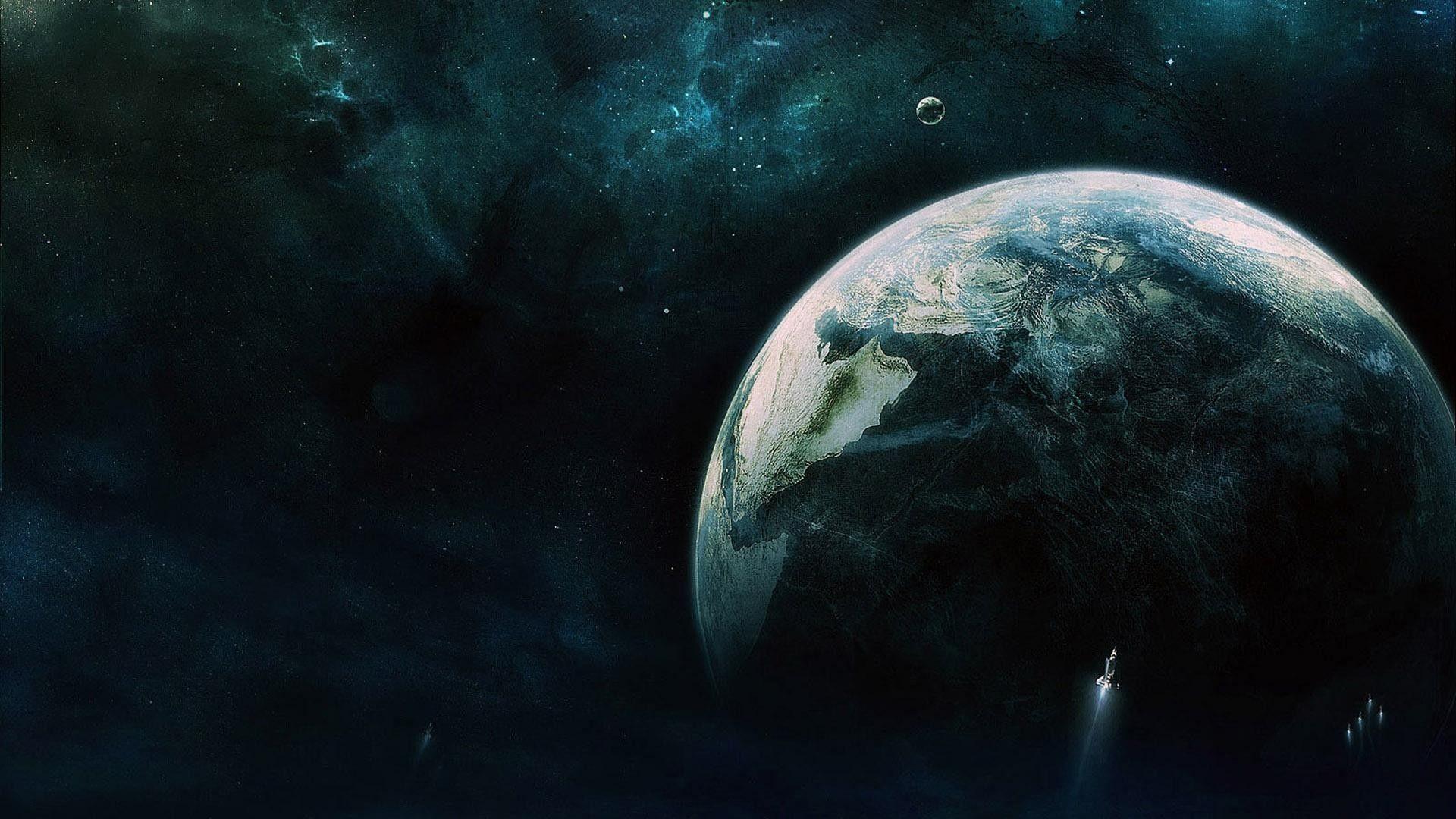 1920x1080 Epic Space Art Background Wallpaper HD