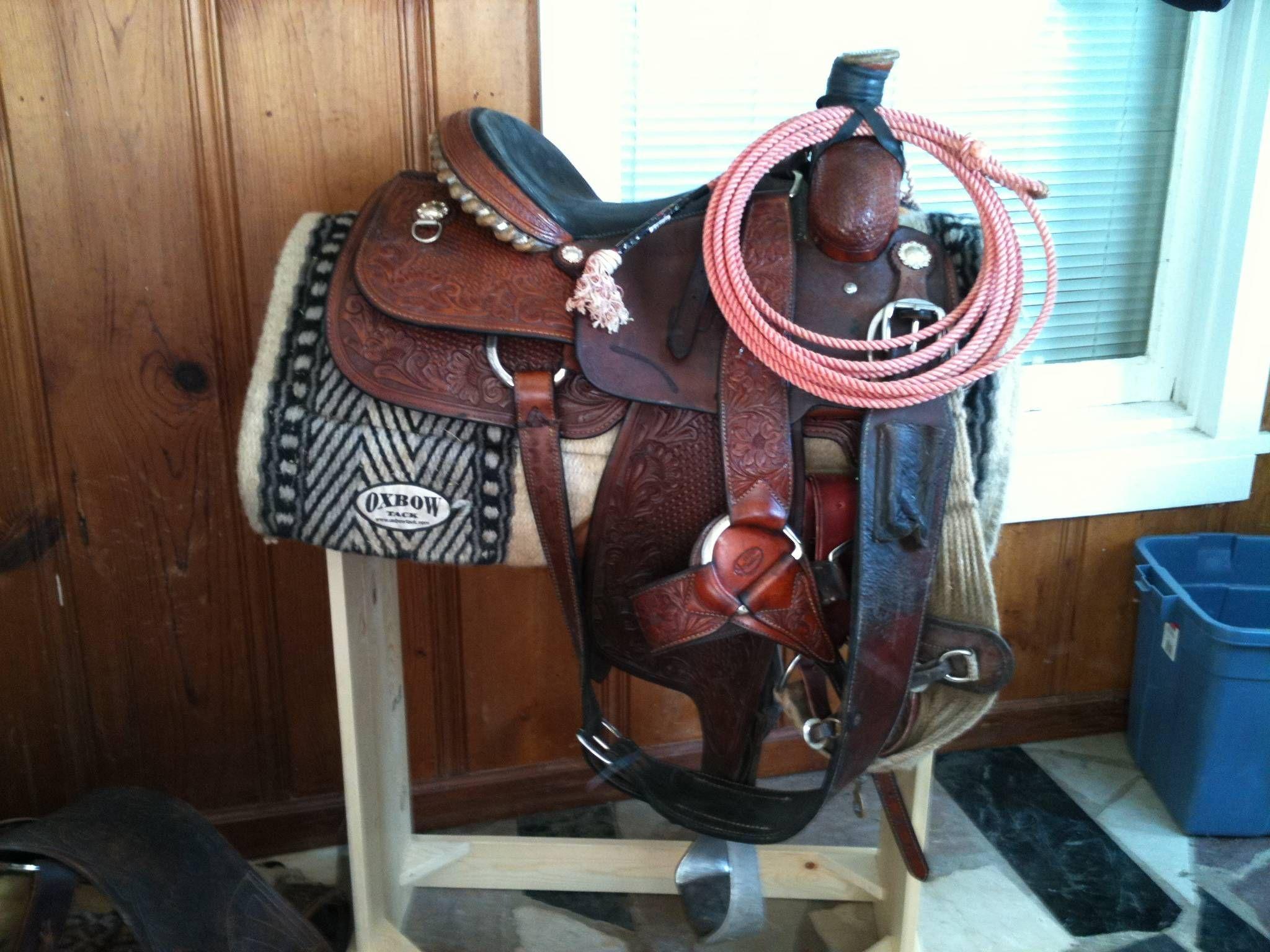 Cactus roping saddle | The barn | Roping saddles, Saddle ...