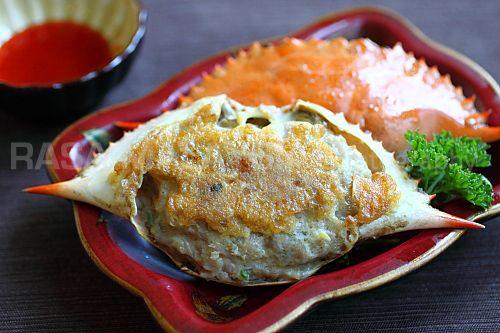 Stuffed Crab Poo Cha Crab Recipes Easy Yummy Seafood Cha Recipe
