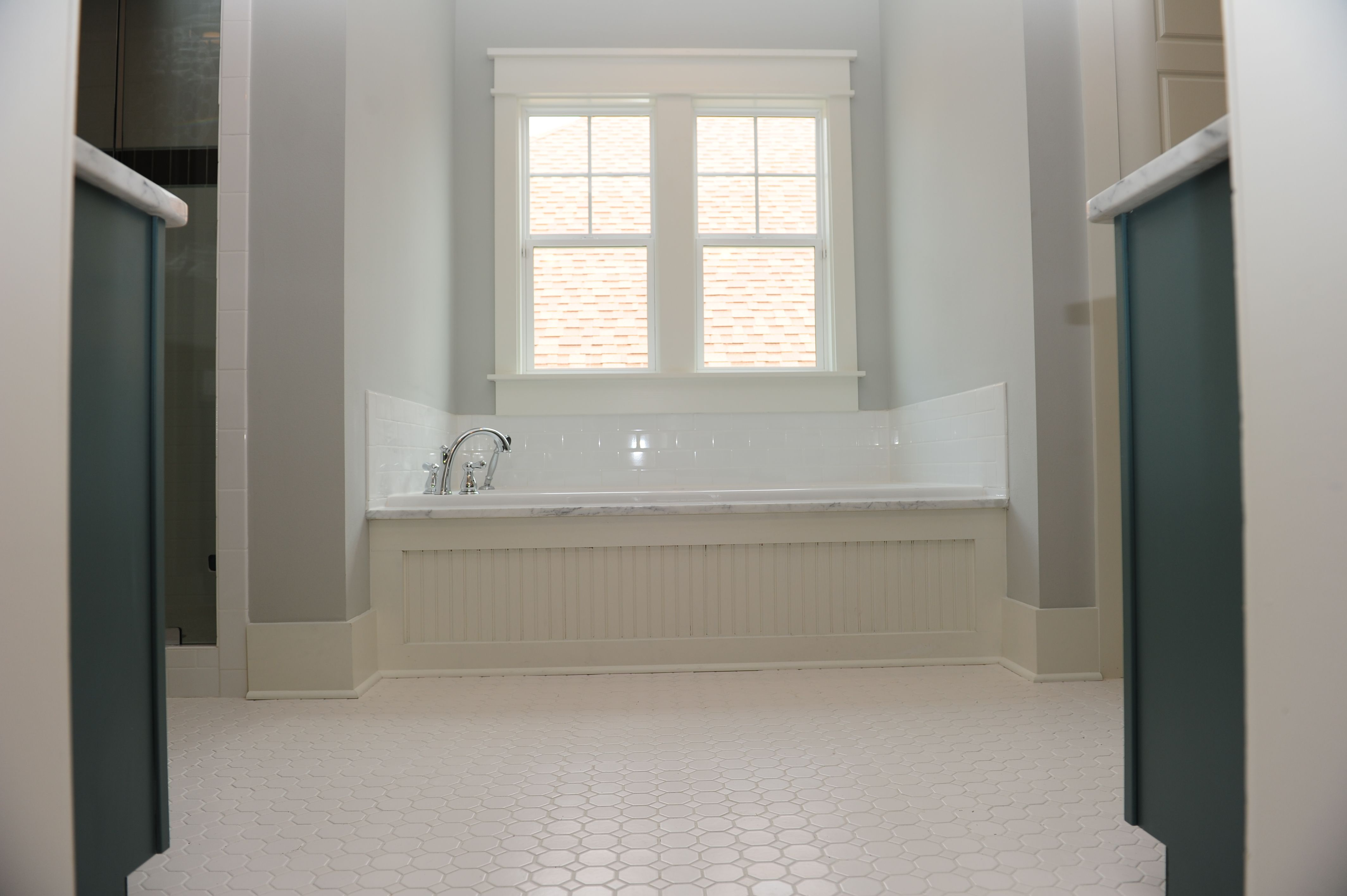Subway Tile Tub Surround Home Ideas Pinterest