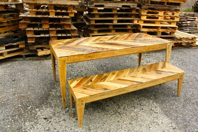 Astounding Vintage Style Pallets Table With Bench Wooden Pallet Table Alphanode Cool Chair Designs And Ideas Alphanodeonline