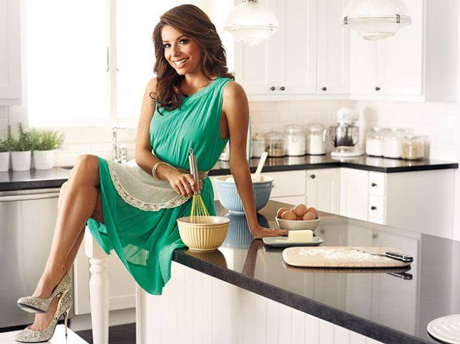 "Domestic Goddess!!! ""Eva's Kitchen: Cooking with Love for Family and Friends"" by Eva Longoria"