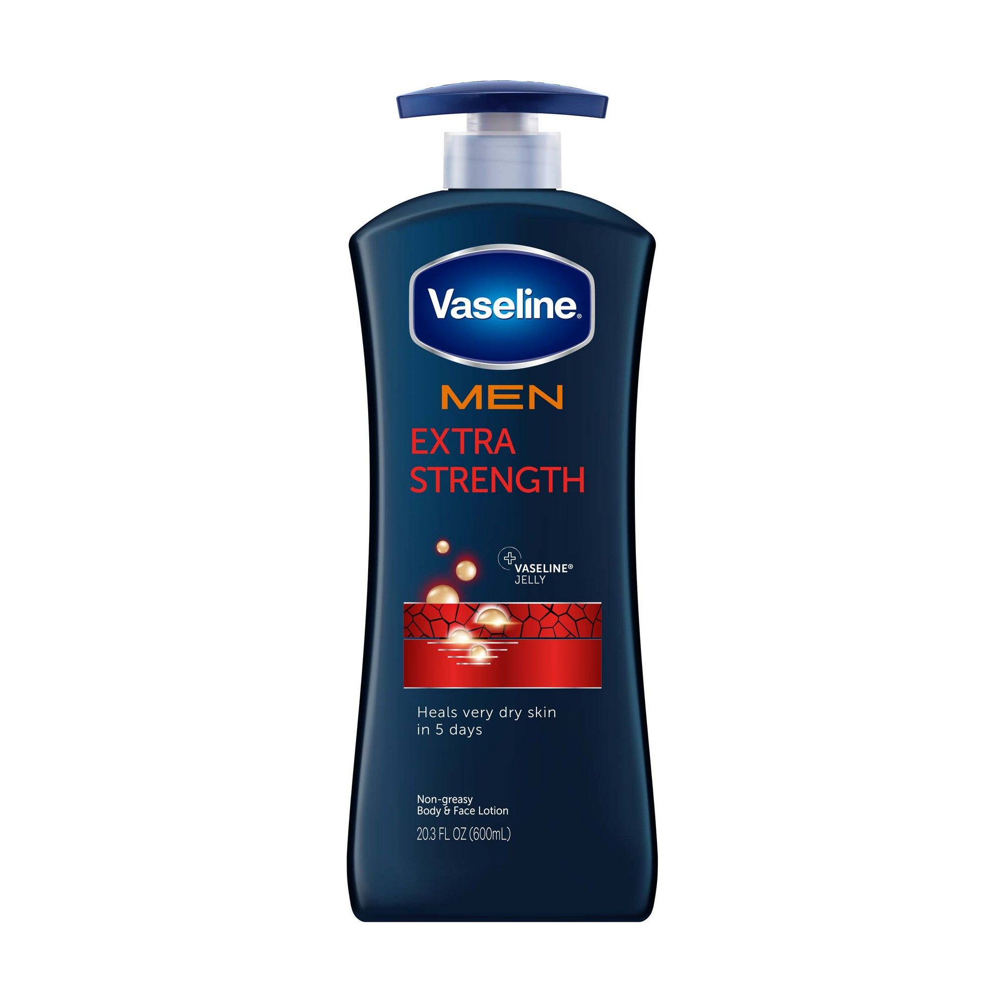 Vaseline Men S Extra Strength Hand And Body Lotion 20 3oz Body Lotion Cream Lotion For Dry Skin Healing Dry Skin