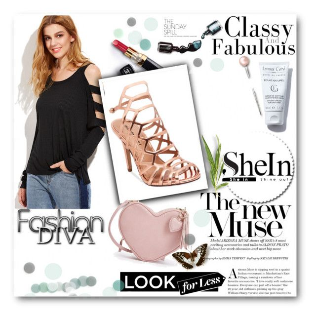 """""""Shein contest"""" by hellen1905 ❤ liked on Polyvore featuring Madden Girl, Chanel and Dolce&Gabbana"""