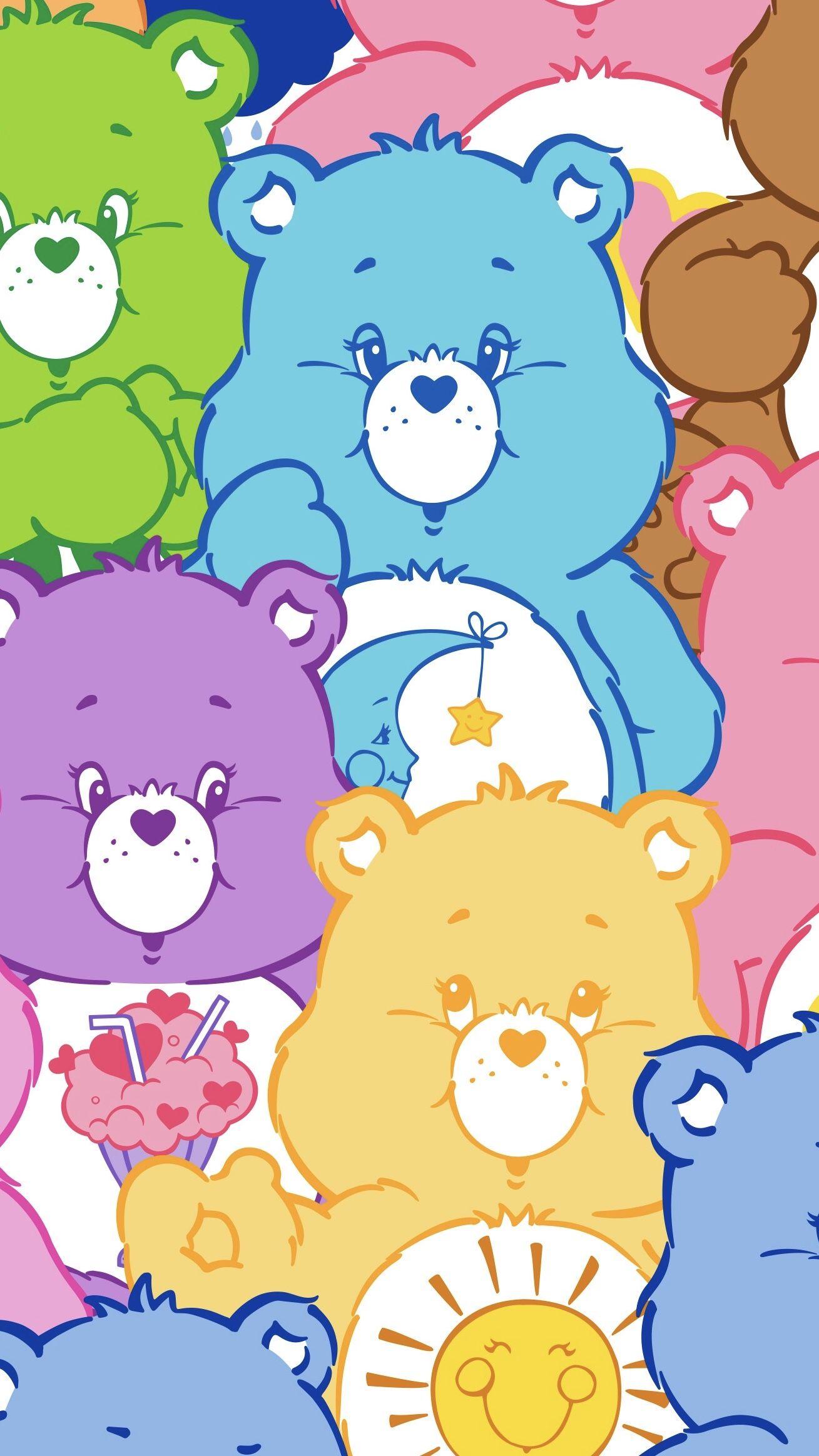 Care Bears Cartoon Wallpaper Iphone Wallpaper Iphone Cute Cute Cartoon Wallpapers