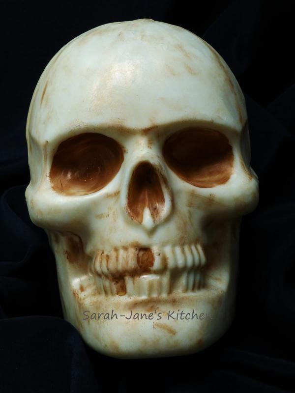 Wilton Dimensions 3d Large Skull Pan Mould Tin