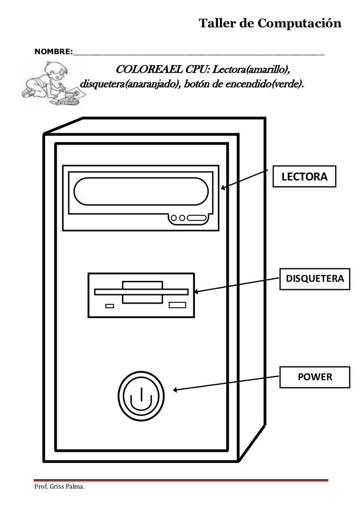 Computación | actividades para primaria | Pinterest | Informática ...