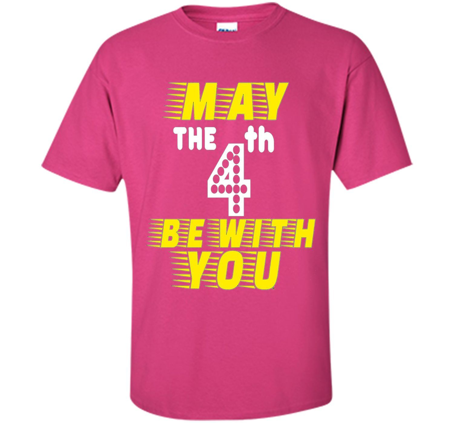 May The 4th Be With You Funny T-Shirt