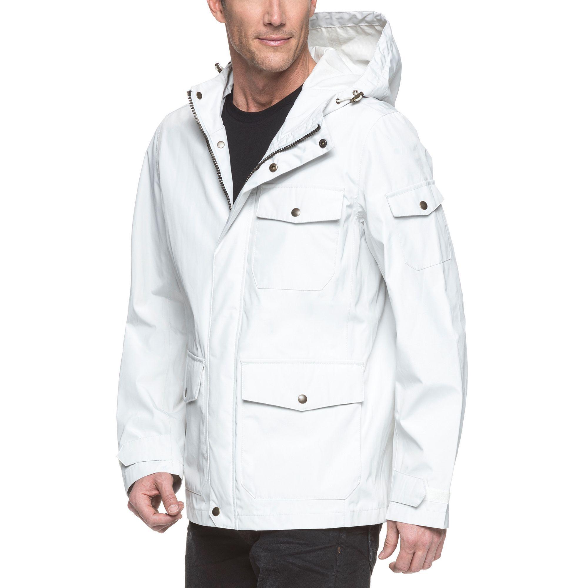 Men's Dockers Rain Jacket Mens rain jacket, Mens