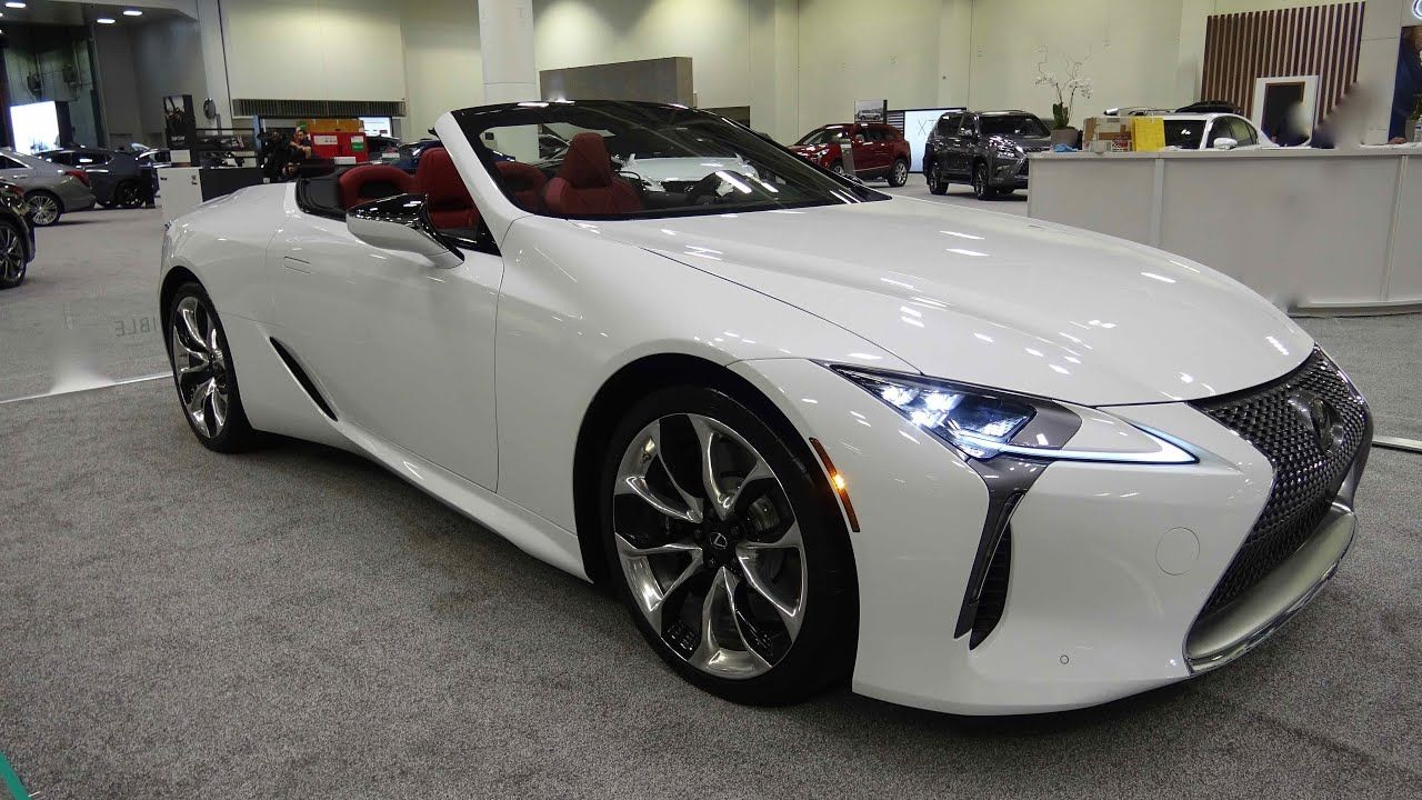 2021 Lexus Lc 500 Convertible At The Twin Cities Auto Show In 2020 Lexus Lc Lexus Lexus Convertible