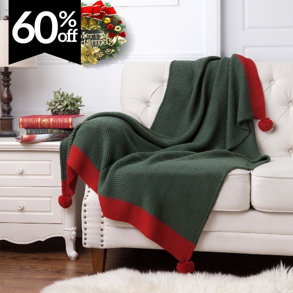 Throw Blankets For Couches Knitted Throw Blanket For Sofa And Couch Lightweight Soft & Cozy
