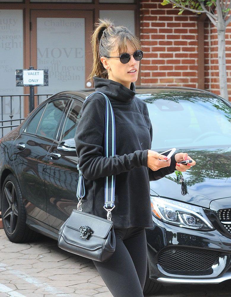 0321353d9d Alessandra Ambrosio Versace Palazzo Empire Crossbody Bag  1