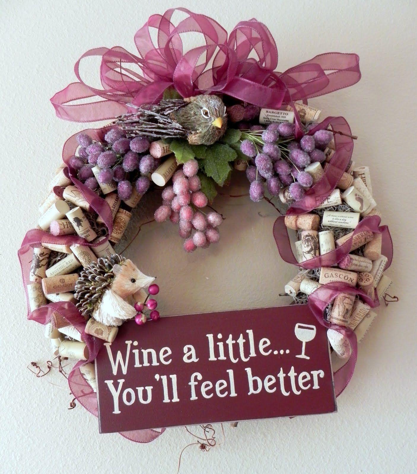 Great Idea for those Corks.....so cute!
