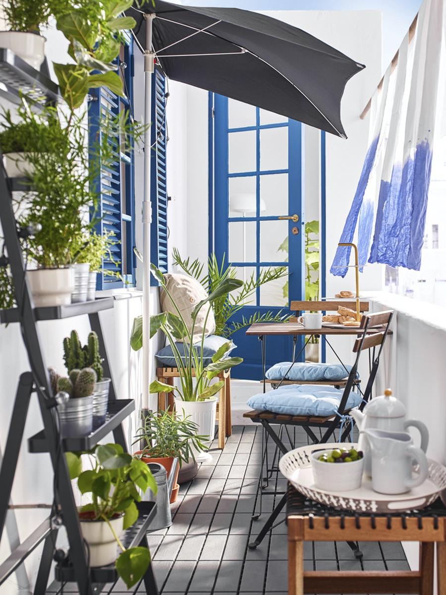 Ideas para aprovechar una terraza pequeña en 2020   Balcon