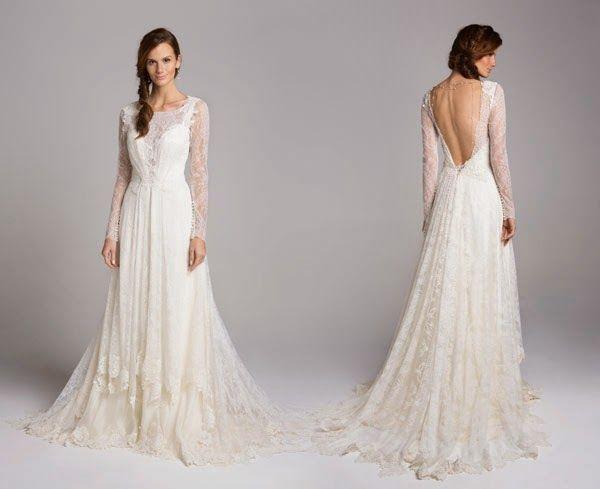 Giselle Nasser - Nouveau - Vestido de noiva vintage