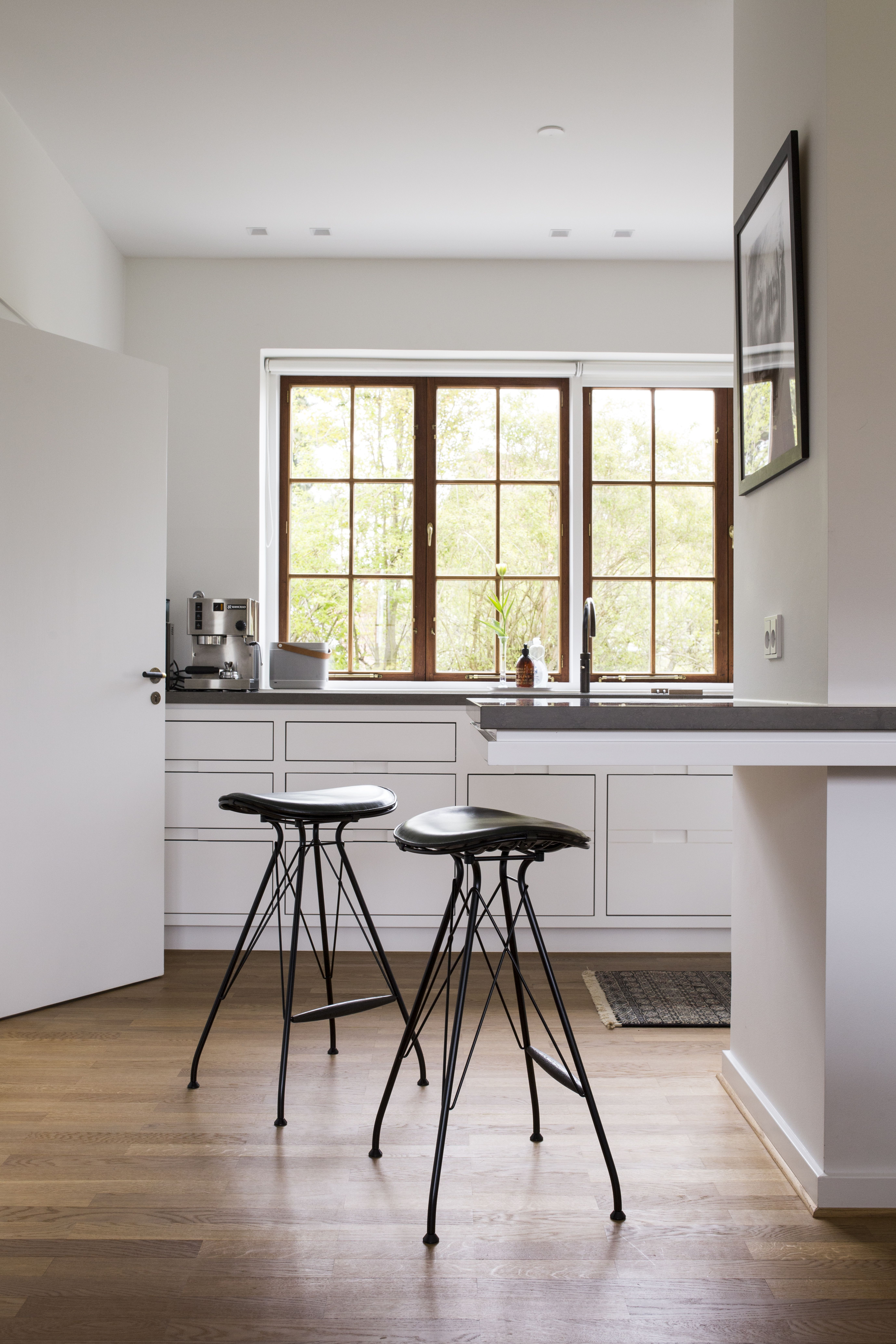 Wire Bar Stools, steel, leather furniture. Craftsmanship made in ...