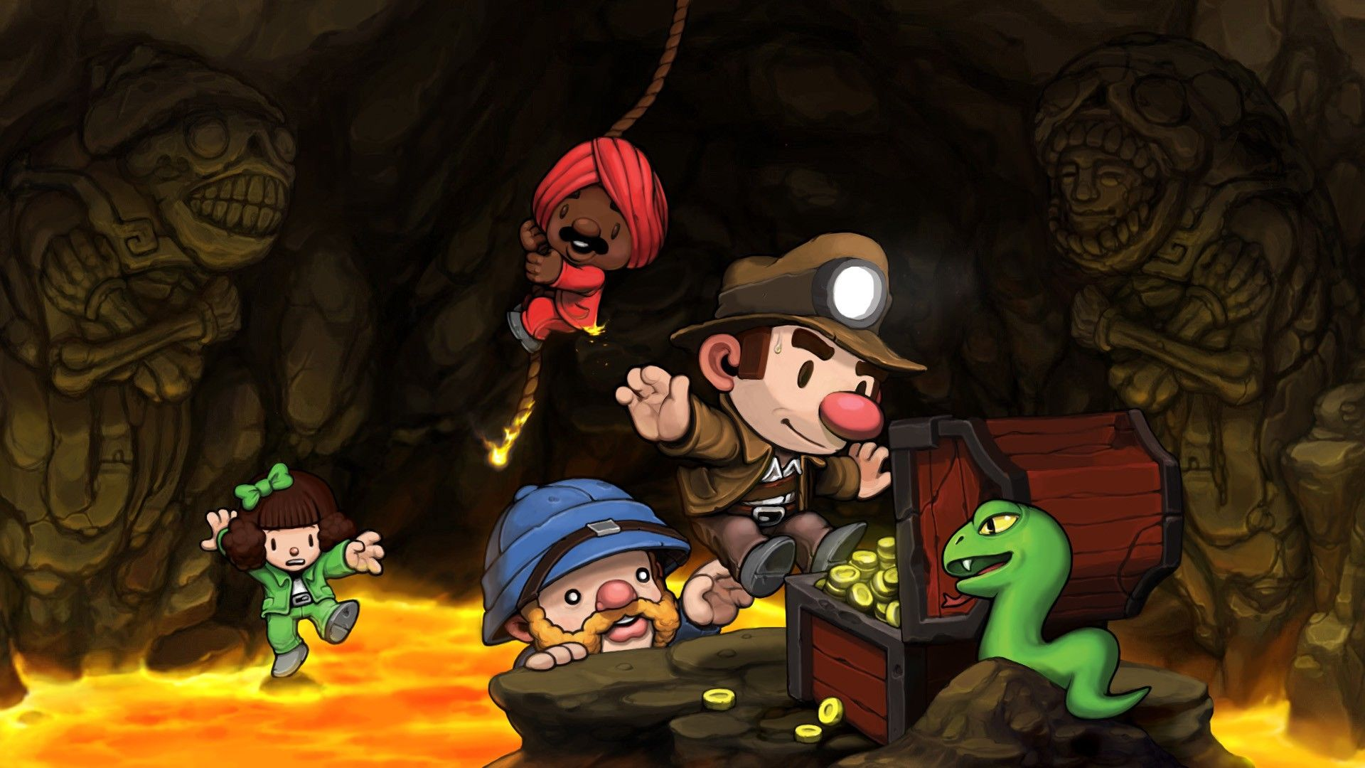 Spelunky Game Review 2019 Ps4 games, Game store, Indie games
