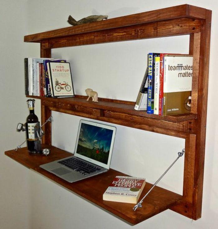Klappschreibtisch Im Kleinen Home Office 33 Fotobeispiele Fold