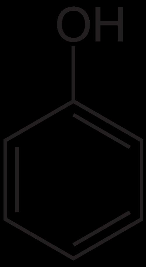 Eindterm 61: Je kent de structuurformule van benzenol