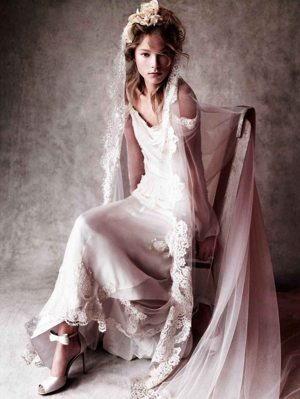 Heloise Guerin by Victor Demarchelier for VOGUE wedding JAPAN ...