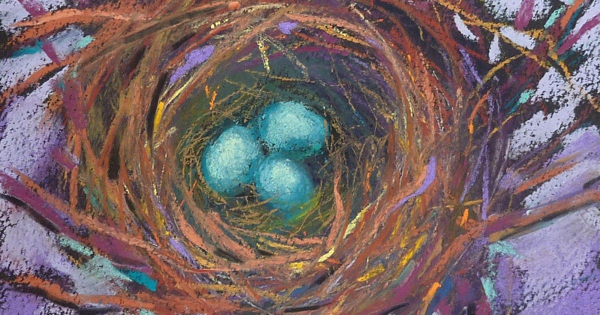 'Jewels' 5x7 pastel ©Karen Margulis available on Etsy $45     I rarely use pastel pencils in my work. When I was...